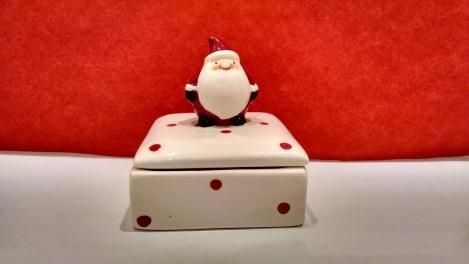 Kleiner Weihnachtsmann, der große kommt bald.